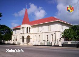 Tonga Nukualofa Prime Minister Building New Postcard - Tonga