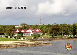 Tonga Nukualofa Overview Royal Palace New Postcard - Tonga