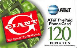 AT&T Plastic PrePaid Phone Card - AT&T