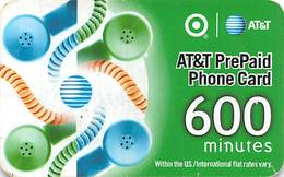 AT&T Plastic PrePaid Phone Card - United States