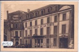 NANCY- GRAND HOTEL DE LA POSTE - Nancy