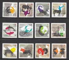 ##2, Canada, Astrologie, Astrology, Zodiaque, Zodiac, Série Complète, Complete Set - 1952-.... Reign Of Elizabeth II