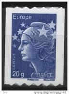 N° 600 ( 4573 ) Année 2011  Marianne De Beaujard Adhesif Roulette Sans Faciale 20g Europe - Frankreich