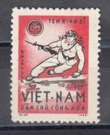 Vietnam Nord 1965 - Portofreiheitsmarke Mi-Nr. 9, MNH** - Viêt-Nam