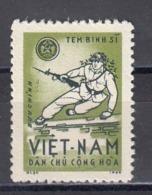 Vietnam Nord 1965 - Portofreiheitsmarke Mi-Nr. 10, MNH** - Vietnam