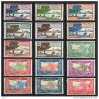 Nouvelle-Calédonie N° 139-147, 148, 149, 150, 151, 152, 153 * - Unused Stamps