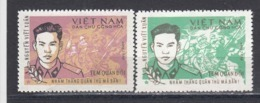 Vietnam Nord 1971/72 - Portofreiheitsmarke Mi-Nr. 19-20, MNH** - Viêt-Nam