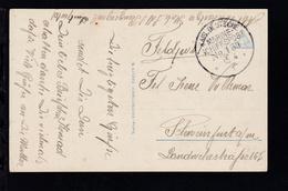 KAIS. DEUTSCHE MARINE-SCHIFFSPOST No 139 15.4.15 (= SMS Prinzregent Luitpold)  - Germany