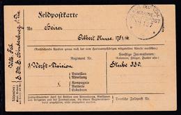 KAIS. DEUTSCHE MARINE-SCHIFFSPOST No 127 19.2.18 (= SMS Hindenburg)  - Germany