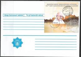Uzbekistan 2019 Outstanding Figures - The 150th Anniversary Of The Birth Of Mahatma Gandhi MNH - Mahatma Gandhi