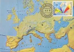 HELAS UNION DE COLLECTIONS MAXIMUM POST CARD  (GENN201328) - Cartes-maximum (CM)