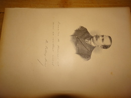 René Vallery-Radot, Homme De Lettres, Secrétaire De La Revue Des Deux Mondes, Document Extrait D'un Livre Paru En 1904 - Vieux Papiers
