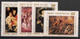 Centrafricaine - 1977 - N°Yv. 320 à 323 - Rubens - Neuf Luxe ** / MNH / Postfrisch - Centraal-Afrikaanse Republiek