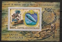Centrafricaine - 1978 - Bloc Feuillet BF N°Yv. 23 - Zeppelin - Neuf Luxe ** / MNH / Postfrisch - Repubblica Centroafricana