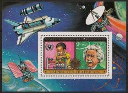 Centrafricaine - 1979 - Bloc Feuillet BF N°Yv. 32 - Einstein - Neuf Luxe ** / MNH / Postfrisch - Zentralafrik. Republik