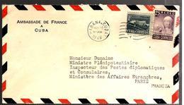 27722 - Ambassade De France - Lettres & Documents
