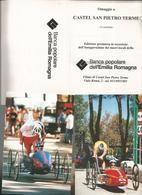 12 CARTOLINE + FOLDER: CARRERA CASTEL SAN PIETRO TERME BANCA POPOLARE DELL'EMILIA ROMAGNA 1988  (28) - Cartoline