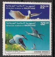Mauritanie - 1986 - N°Yv. 590 à 591 - Oiseaux - Neuf Luxe ** / MNH / Postfrisch - Mauritanie (1960-...)