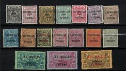 WALLIS ET FUTUNA      N°  YVERT  :  1/17 NEUF AVEC  CHARNIERES      (  CH  01/12 ) - Neufs