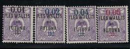 WALLIS ET FUTUNA      N°  YVERT  :  26/29   NEUF AVEC  CHARNIERES      (  CH  01/14 ) - Wallis And Futuna