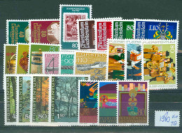 Liechtenstein   Année Complète 1980   * *  TB - Full Years