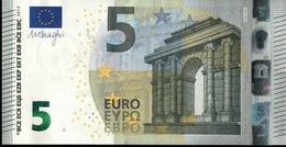 ! 5 Euro Unc., S001A1, SF1006416351 Currency, Banknote, Billet Mario Draghi, EZB, Europäische Zentralbank - EURO