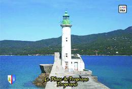 Set 6 Cartes Postales, Phares, Lighthouses Of Europe, France, Propriano, Le Phare De Propriano - Vuurtorens