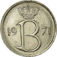Monnaie, Belgique, 25 Centimes, 1971, Bruxelles, TTB+, Copper-nickel, KM:153.2 - 1951-1993: Baudouin I