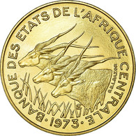 Monnaie, États De L'Afrique Centrale, 5 Francs, 1973, Paris, FDC - Cameroun
