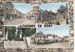 76 - Carte Postale Semi Moderne Dentelée De  GOURNAY EN BRAY  Multi Vues - Gournay-en-Bray