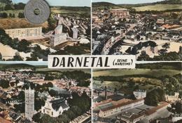 76 - Carte Postale Semi Moderne Dentelée De  DARNETAL   Multi Vues - Darnétal