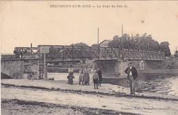 BEAUMONT  SUR OISE  LE PONT DE FER CPA   CIRCULEE - Beaumont Sur Oise