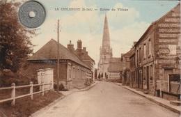 76 - Carte Postale Ancienne De   LA CERLANGUE     Entée Du Village - Francia
