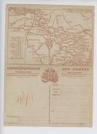 Correspondance Militaire, Cartes Du Front Artois Et Picardie (n°2) - Oorlog 1914-18