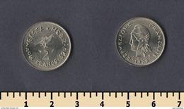 New Hebrides 2 Francs 1979 - Munten