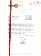 Factuur Facture Brief Lettre - L Myron Company - Encinitas California - 1973 - Etats-Unis