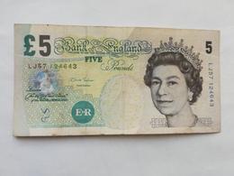GRAN BRETAGNA 5 POUNDS - 1952-… : Elizabeth II