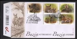 BUZIN / FDC / COB 4399-4403 / BUZIN AUTREMENT - 1985-.. Oiseaux (Buzin)