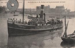76 - Carte Postale Ancienne De  LE TREPORT   Arrivée Du J.B. Pollet  De La Promenade En Mer - Le Treport