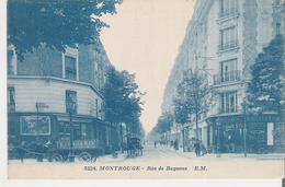 MONTROUGE. CP Voyagée Rue De Bagneux - Montrouge