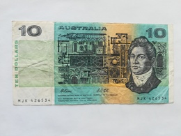 AUSTRALIA 10 DOLLARS 1991 - Emissioni Della Banca Governativa 1910