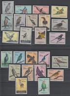 Portugal Angola 1951 Oiseaux 328-51 24 Val * Charn. - Angola