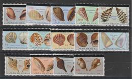 Angola 1981 Coquillages 631-645 Sauf 633 14 Val ** MNH - Angola