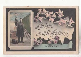 CPA  France 71 - Chagny   :  Achat Immédiat - (cd025 ) - Chagny