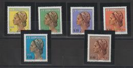 Somalie 1982 Coiffures 283-88 6 Val ** MNH - Somalia (1960-...)