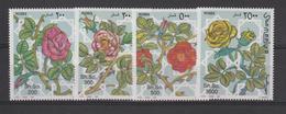 Somalie 1997 Fleurs Roses 573-76 4 Val ** MNH - Somalia (1960-...)