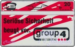 """TWK Österreich Privat: """"Securitas - Group 4"""" Gebr. - Oesterreich"""