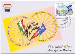 CESENATICO OMAGGO AL PIRATA PANTANI  MAXIMUM POST CARD  (GENN201367) - Cyclisme