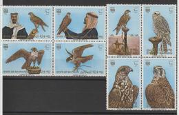 Bahrein 1980 Oiseaux Rapaces 287-94 8 Val ** MNH - Bahreïn (1965-...)