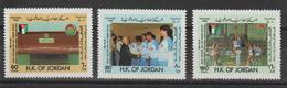 Jordanie 1988 Sport Basket 1243-5 3 Val ** MNH - Jordania